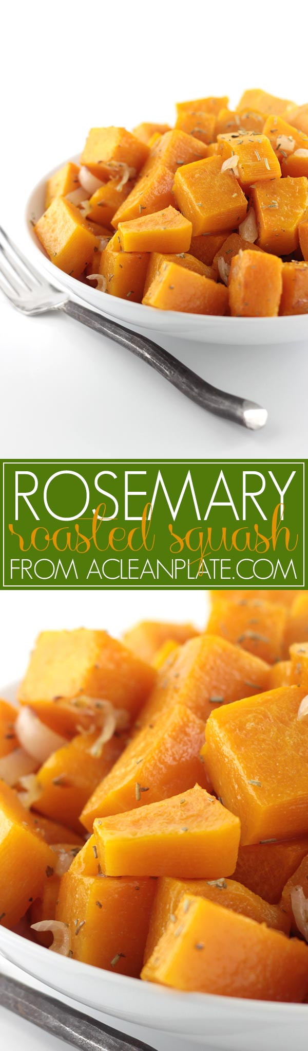 AIP Rosemary and Shallot Roasted Butternut Squash recipe from The Alternative Autoimmune Cookbook on acleanplate.com
