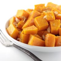 Rosemary and Shallot Roasted Butternut Squash