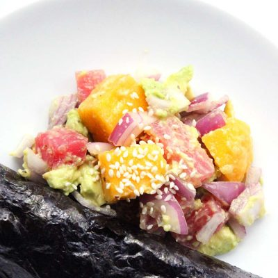 Tropical Tuna Wraps