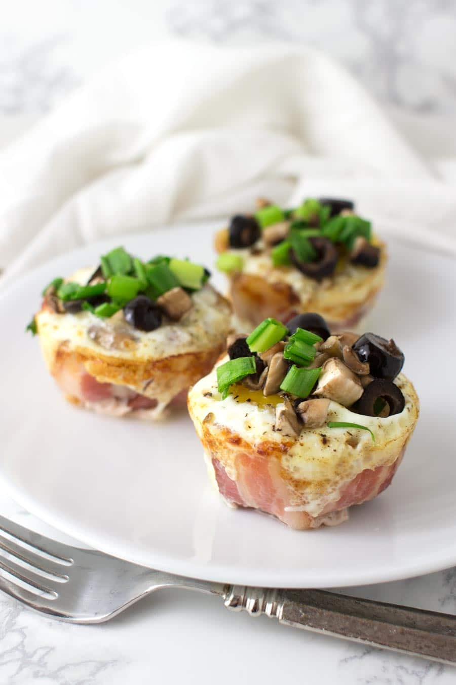 Bacon and Egg Muffins recipe from acleanplate.com #paleo
