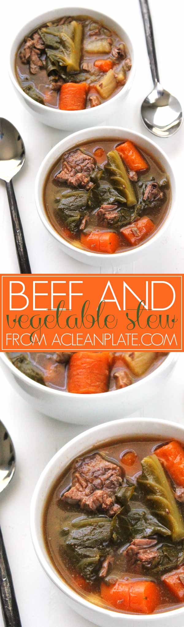 Beef and Vegetable Stew with Bacon | A Clean Plate