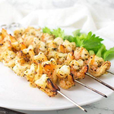 Broiled Shrimp Kebobs