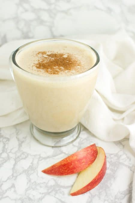 Apple Lassi recipe from acleanplate.com #aip #autoimmuneprotocol #paleo
