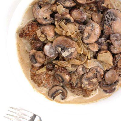 Lamb Meatballs with Mushroom Sauce