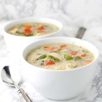 Chicken Pot Pie Soup from 28 Days of One-Pot AIP