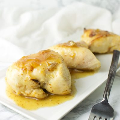 Fig-Glazed Chicken