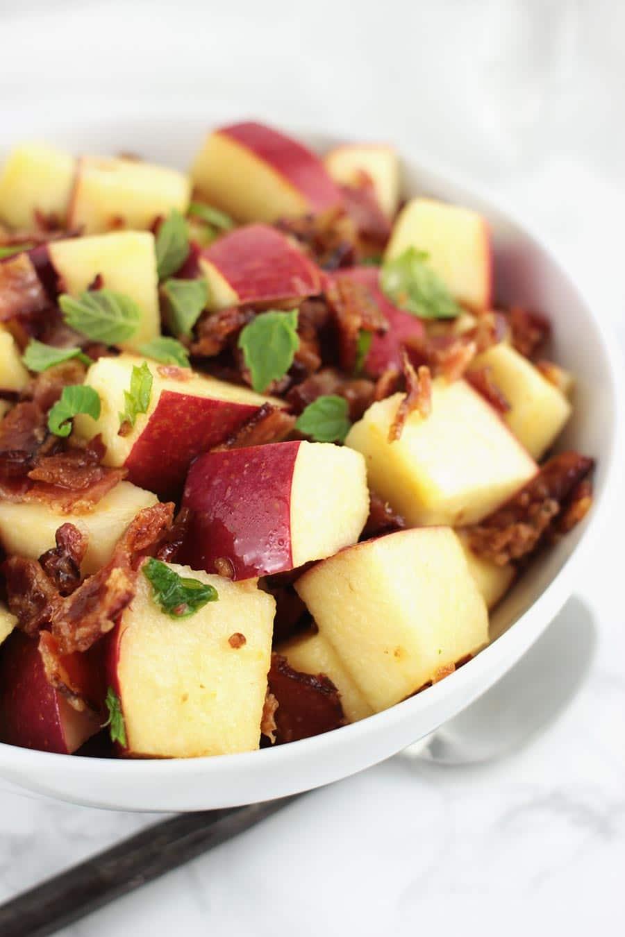 Apple Bacon Fruit Salad