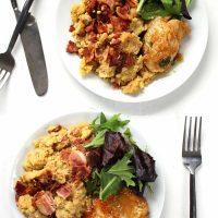 Fig-Glazed Chicken
