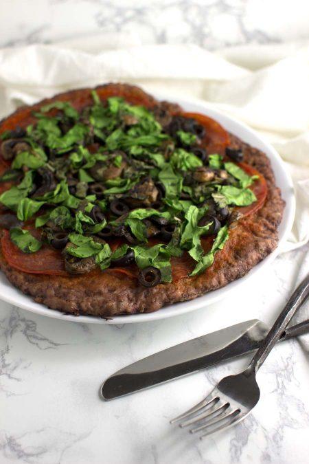 Meatza recipe from acleanplate.com #paleo #aip #autoimmuneprotocol
