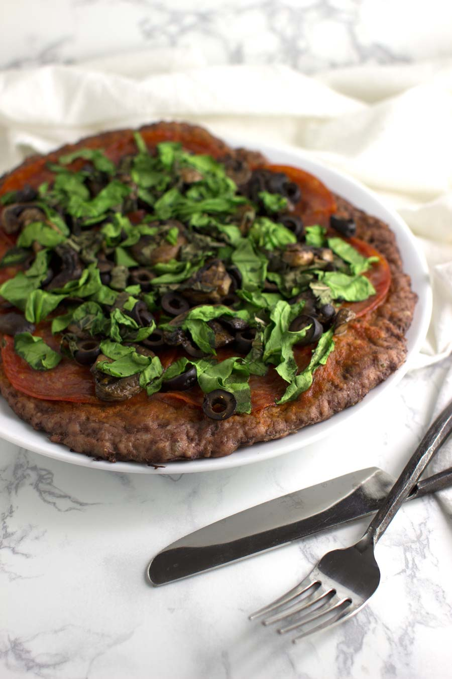Meatza recipe from acleanplate.com #paleo #aip #autoimmuneprotocol