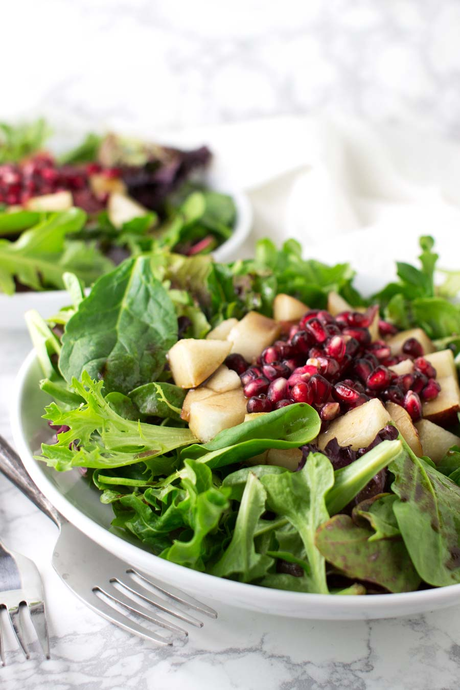 Asian Pear Salad recipe from acleanplate.com #aip #paleo #glutenfree