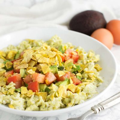 Tex-Mex Scrambled Eggs (Migas)