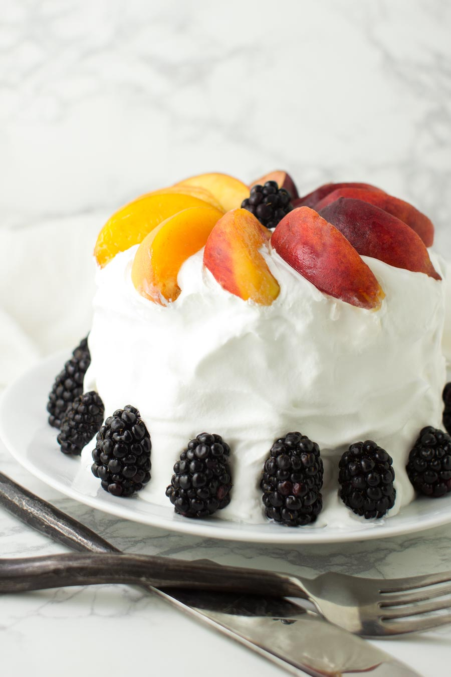 Watermelon Cake recipe from acleanplate.com #paleo #aip #glutenfree