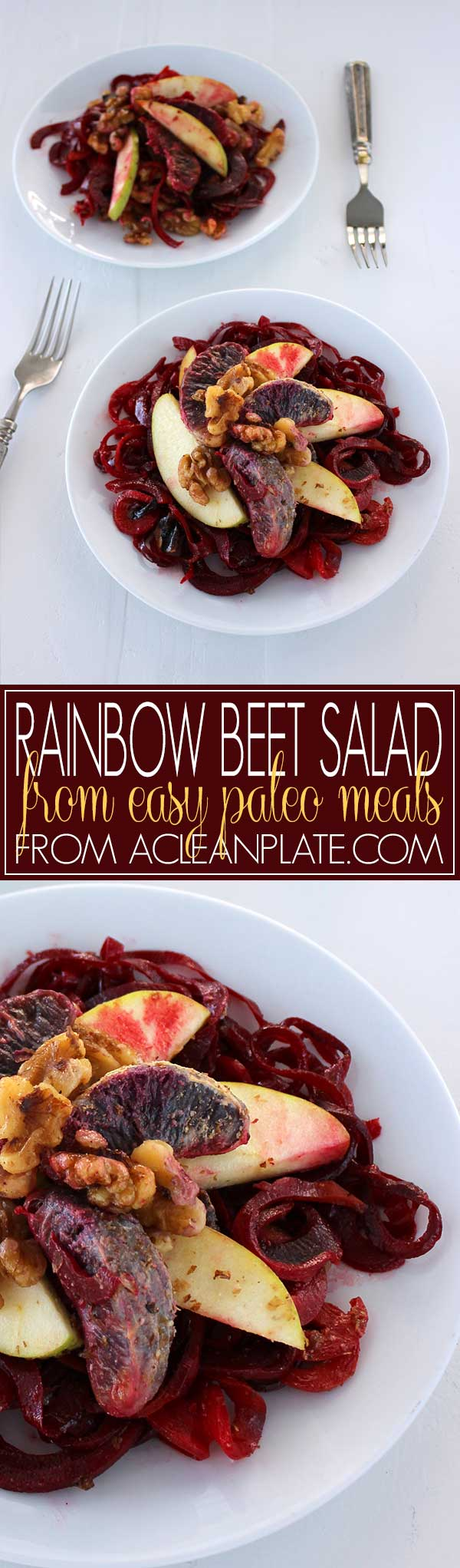 Rainbow Beet Salad from Easy Paleo Meals on acleanplate.com