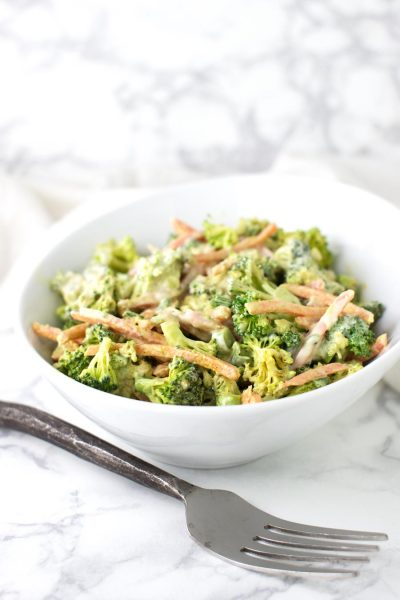 Moroccan Broccoli Salad recipe from acleanplate.com #paleo #aip #glutenfree