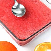 Strawberry-Orange Sorbet