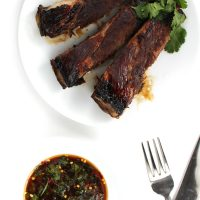 Asian Honey-Glazed Ribs