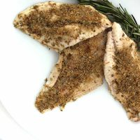 Grilled Garlic and Herb Catfish