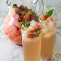 Minty Melon Water