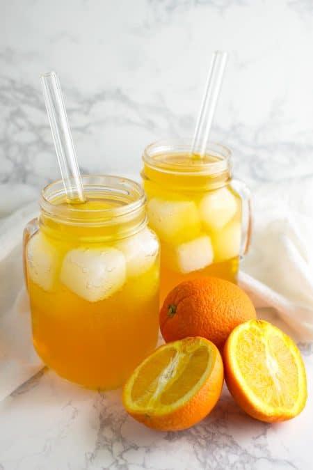 Orange Cream Soda recipe from acleanplate.com #paleo #aip #autoimmuneprotocol