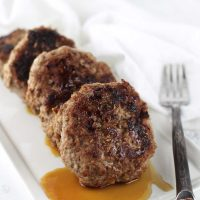 Apple-Cinnamon Sausage Patties