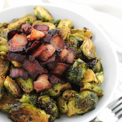 Maple Bacon Brussels Sprouts from Lexi's Clean Kitchen