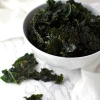 Super-Simple Garlic Salt Kale Chips