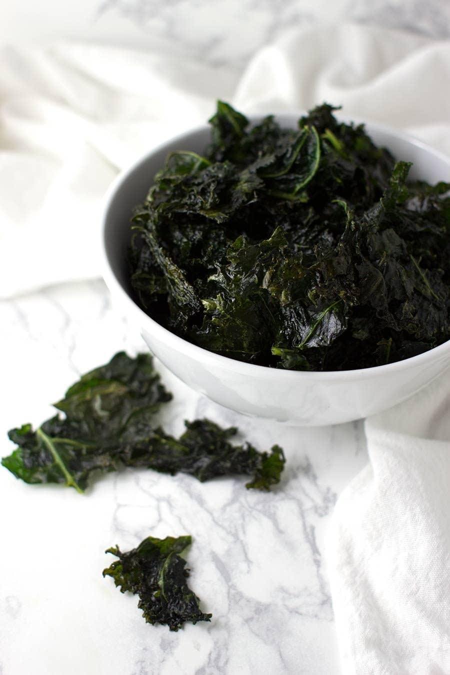 Garlic Salt Kale Chips