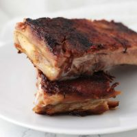 Applesauce Pork Ribs