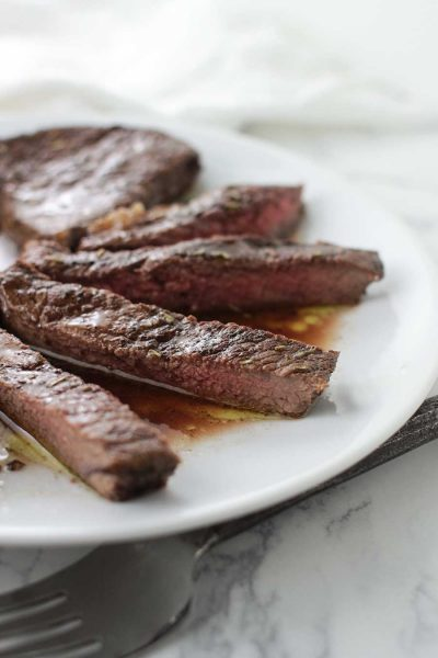 Balsamic-Rosemary Steaks