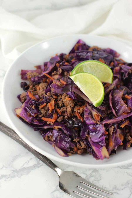Asian Slaw Stir-Fry