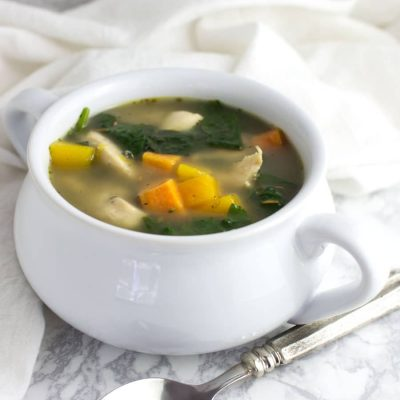 Roasted Chicken and Vegetable Soup