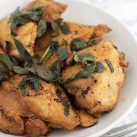 Thai Basil Chicken Thighs