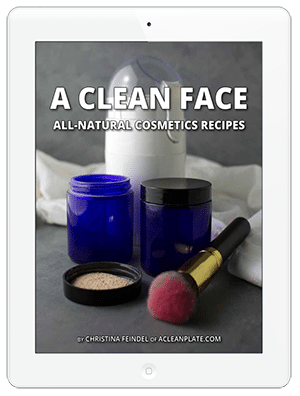 A Clean Face allergen-free cosmetics recipes