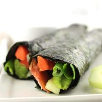 10-Minute Rice-Free Nori Rolls