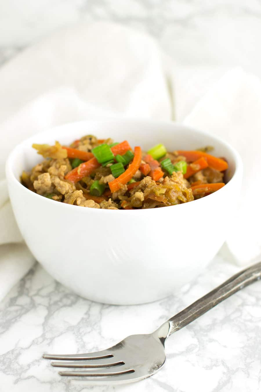 Egg Roll Stir-Fry recipe from acleanplate.com #paleo #aip #autoimmuneprotocol