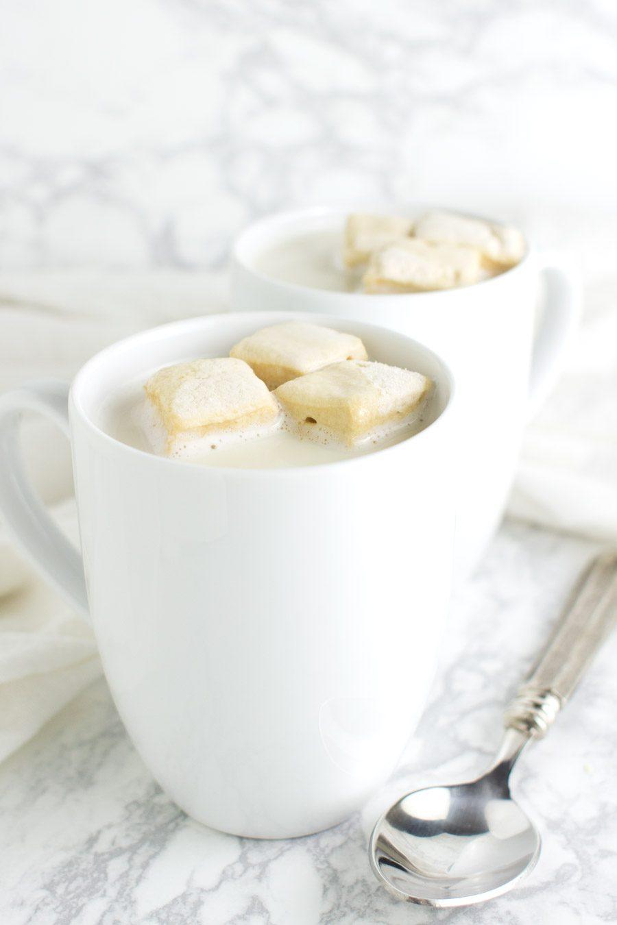 Matcha Green Tea Latte recipe from acleanplate.com #aip #paleo #autoimmuneprotocol