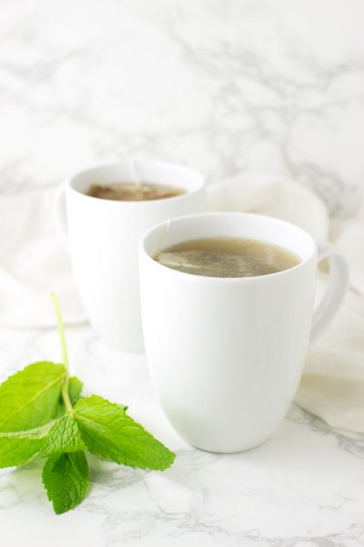 Honey Citrus Mint Tea recipe from acleanplate.com #paleo #aip #glutenfree