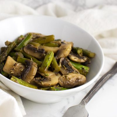 Sweet and Sour Asparagus Stir-Fry