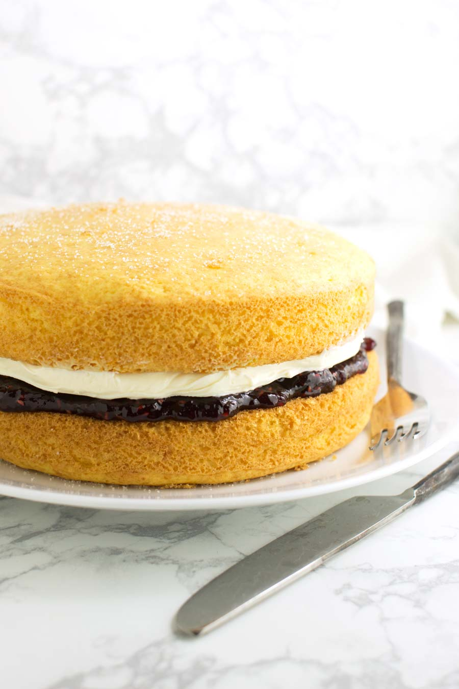 Victoria Sandwich recipe from acleanplate.com #paleo #glutenfree #dairyfree